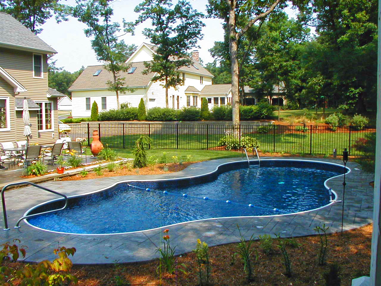 In ground swimming pool design installation for Pictures of inground pools